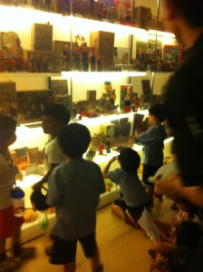 Children at Mint Museum of Toys