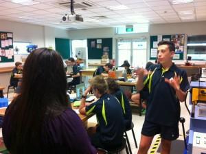 ais student explaining