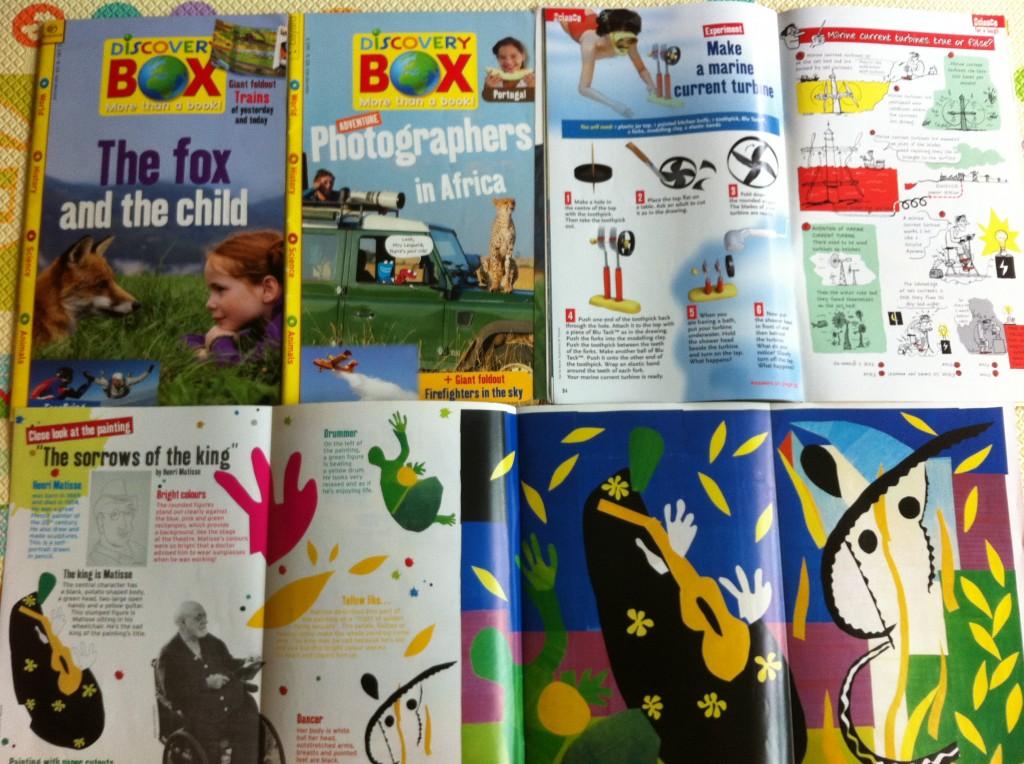 discovery box magazine