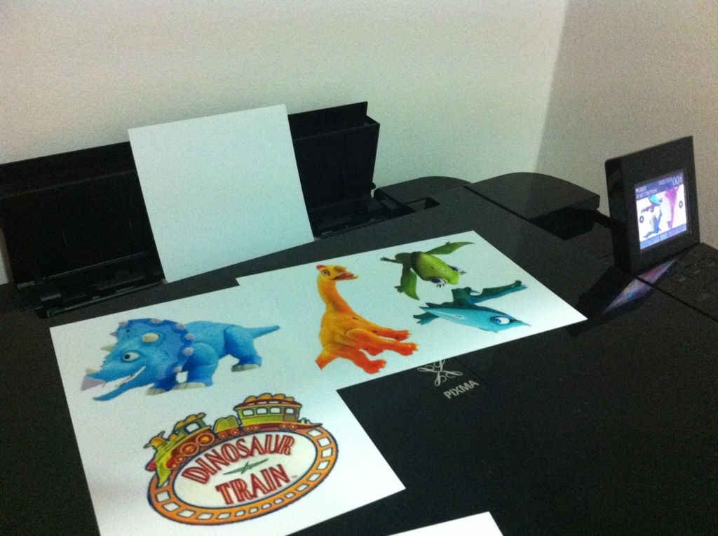 printing dinosaur train pictures