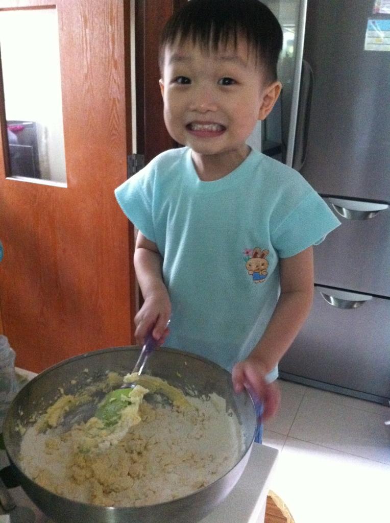 el baking cake