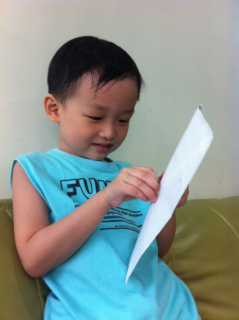 el opening his letter