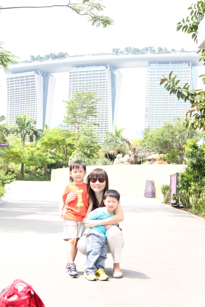 marina bay sands background