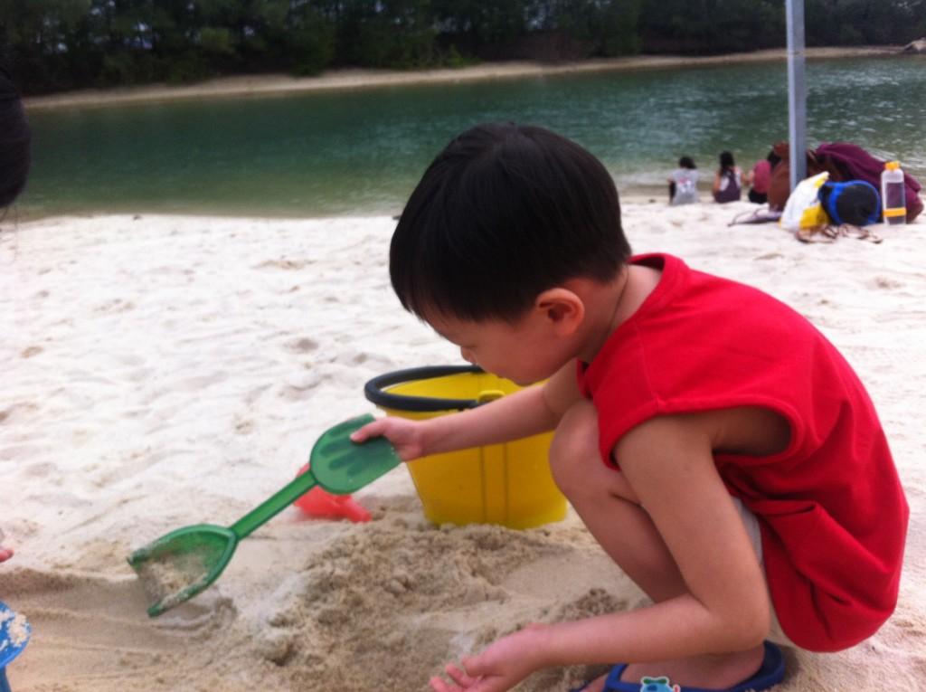 el building sandcastle