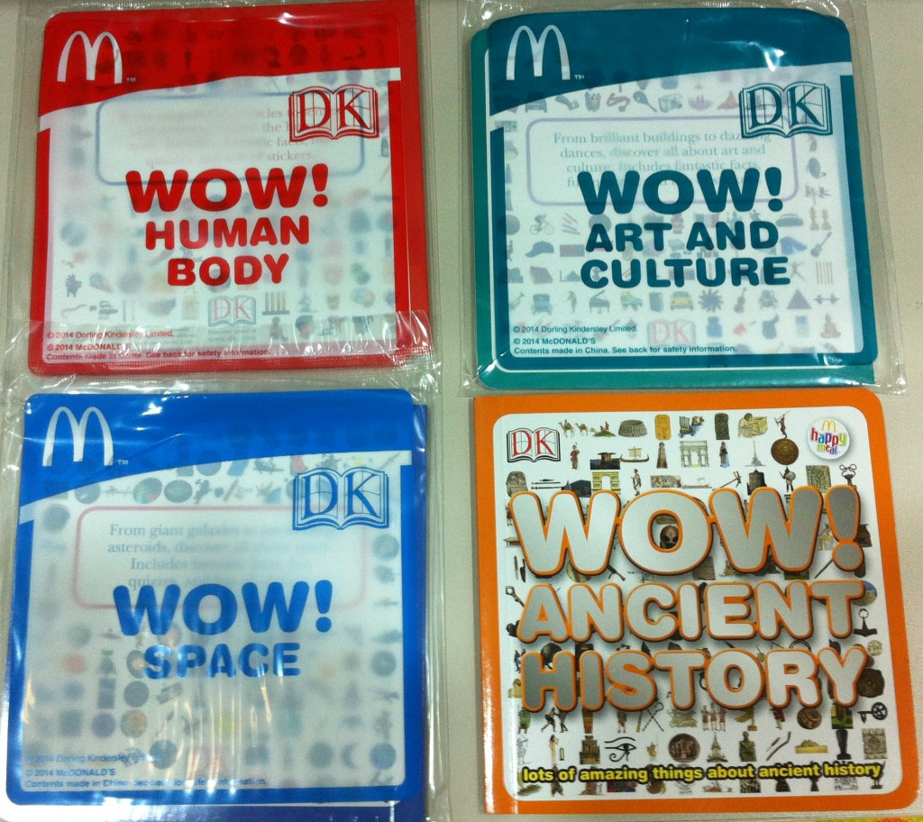 wow mcdonalds books